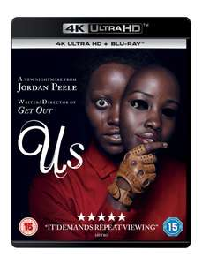 4K Ultra HD from £11.99 delivered e.g. Us - Creed II - Ocean's 8 (more in post) @ HMV