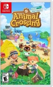Animal Crossing New Horizons Nintendo Switch - £44.99 Smyths physical copy