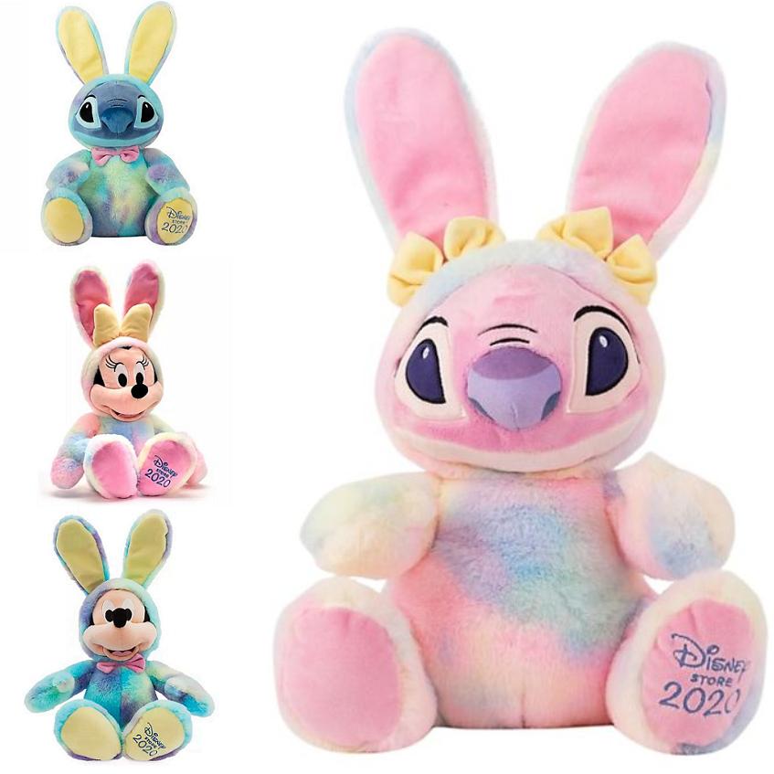 Disney Easter Medium Soft Toys - Mickey, Minnie, Stitch or Angel (was £20) Now £8 + £3.95 delivery per order @ Shop Disney