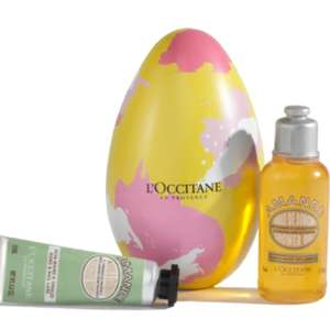 Petite Almond Egg for £5 (worth £8.50) with any purchase at L'occitane - Free Standard Delivery on orders over £35