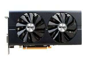 Refurbished Sapphire RX 480 Nitro Graphics Card, 4GB Graphics Card with 12 Months Warranty - £64.99 delivered @ realtime_distribution / eBay