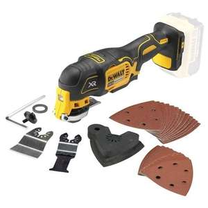 DeWalt DCS355N 18V XR Brushless Multi-Tool with 29pc Accessory Set - Body Only - £92.99 Delivered @ Powertoolmate
