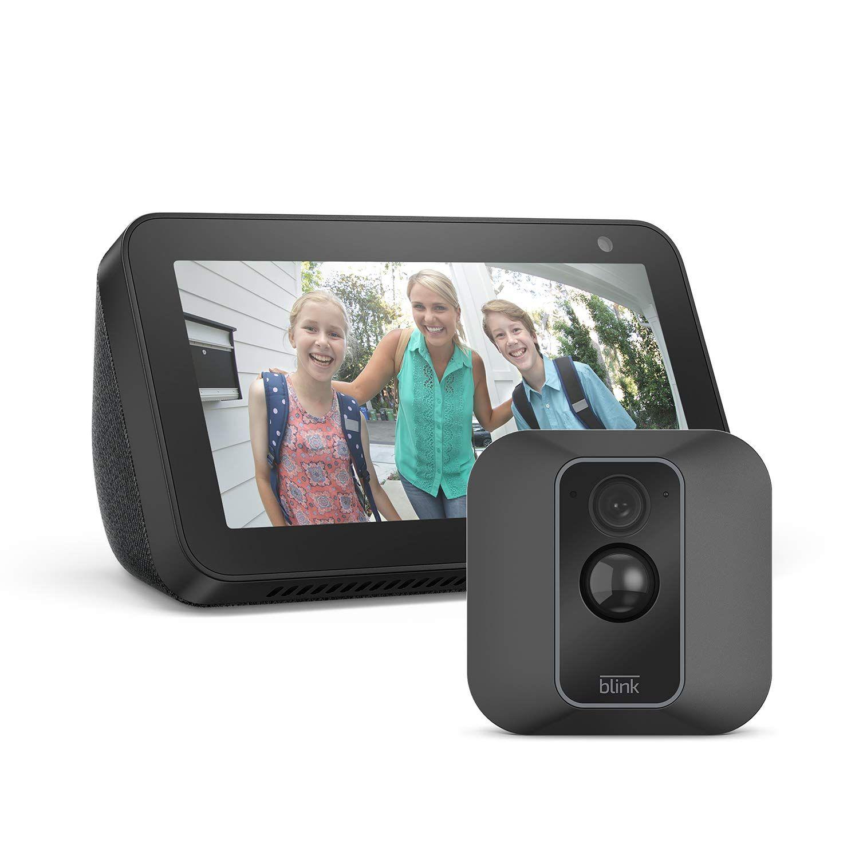 Blink XT2 1-Camera System + Echo Show 5 Smart Display With Alexa Black - £99.99 @ Amazon