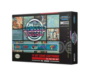 DataEast Classic Collection SNES Cartridges £15.50 + £4 delivery at ASOS