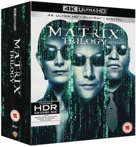 The Matrix Trilogy (4K Ultra HD + Blu-Ray + Digital) for £31.99 delivered @ Warner Bros. Shop
