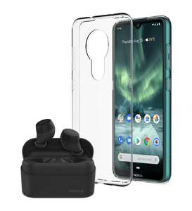 Nokia 7.2 Android One Sim Free + Nokia Power Earbuds + Nokia Clear Case £219 Delivered @ fonehouse