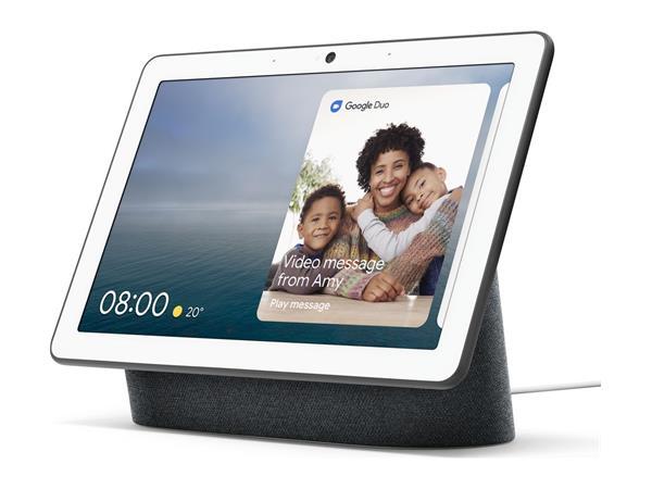 Google Nest Hub Max - Chalk / Charcoal £159 (2 for £299.98) - add chromecast for £15 or Nest Mini for £20 @ BT Shop