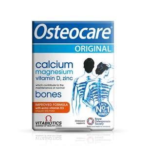 Vitabiotics Osteocare 3 for 2 £10.50 + Free Delivery at vitabiotics + 10% off with code