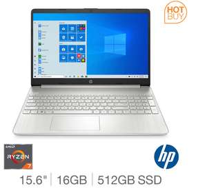HP Ryzen 7, 16GB RAM, 512GB SSD, 15.6 inch Notebook, IPS, 15s-eq0019na - £599.89 delivered @ Costco