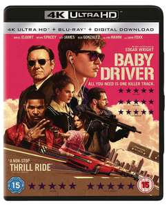 Baby Driver (2 Disc 4K & Blu-ray) £9.99 delivered @ Zoom