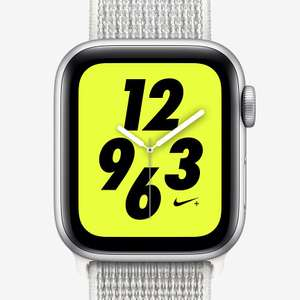 Apple Watch Nike+ Series 4 (GPS + Cellular) with Nike Sport Loop £348.97 £499 40mm Sport Watch @ Nike