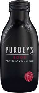 Purdey's Edge Natural Energy Drink, 12 x 330 ml Botttles £12 at Amazon (£11.40 with S&S / +£4.49 Non-prime)