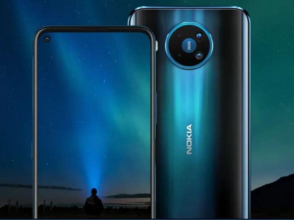 Nokia 8.3 5G - UK Model - Single SIM - Polar Night - 64GB 6GB Smartphone £499.98 @ Clove Technology