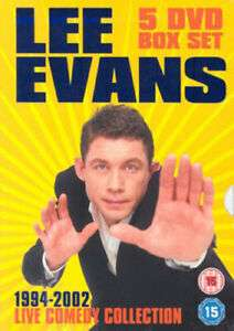 Lee Evans: 1994-2002 - Live Comedy Collection (Box Set) DVD - Used £3.87 delivered @ Music Magpie Ebay