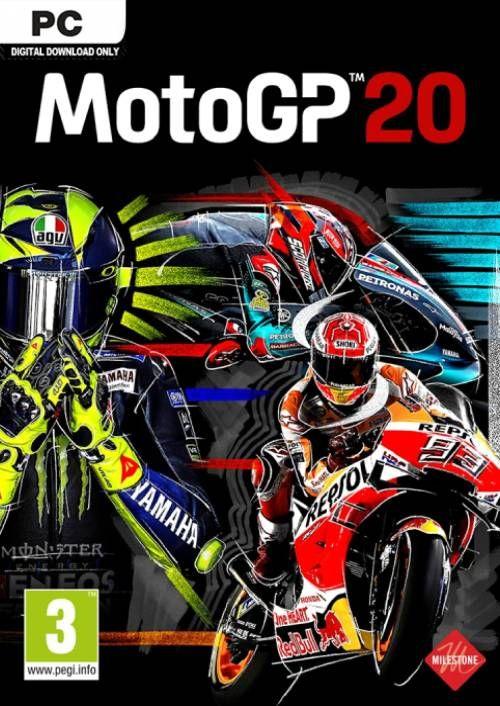MotoGP 20 PC - Pre order £19.49 @ CDkeys
