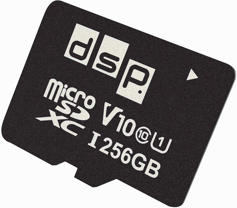 256GB DSP Micro SD Memory Card (Class 10) - for £15.98 (Prime) / £20.47 (Non Prime) delivered @ Amazon