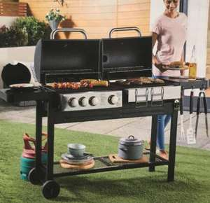 Dual Fuel BBQ for £156.94 Delivered @ Aldi - Online Only