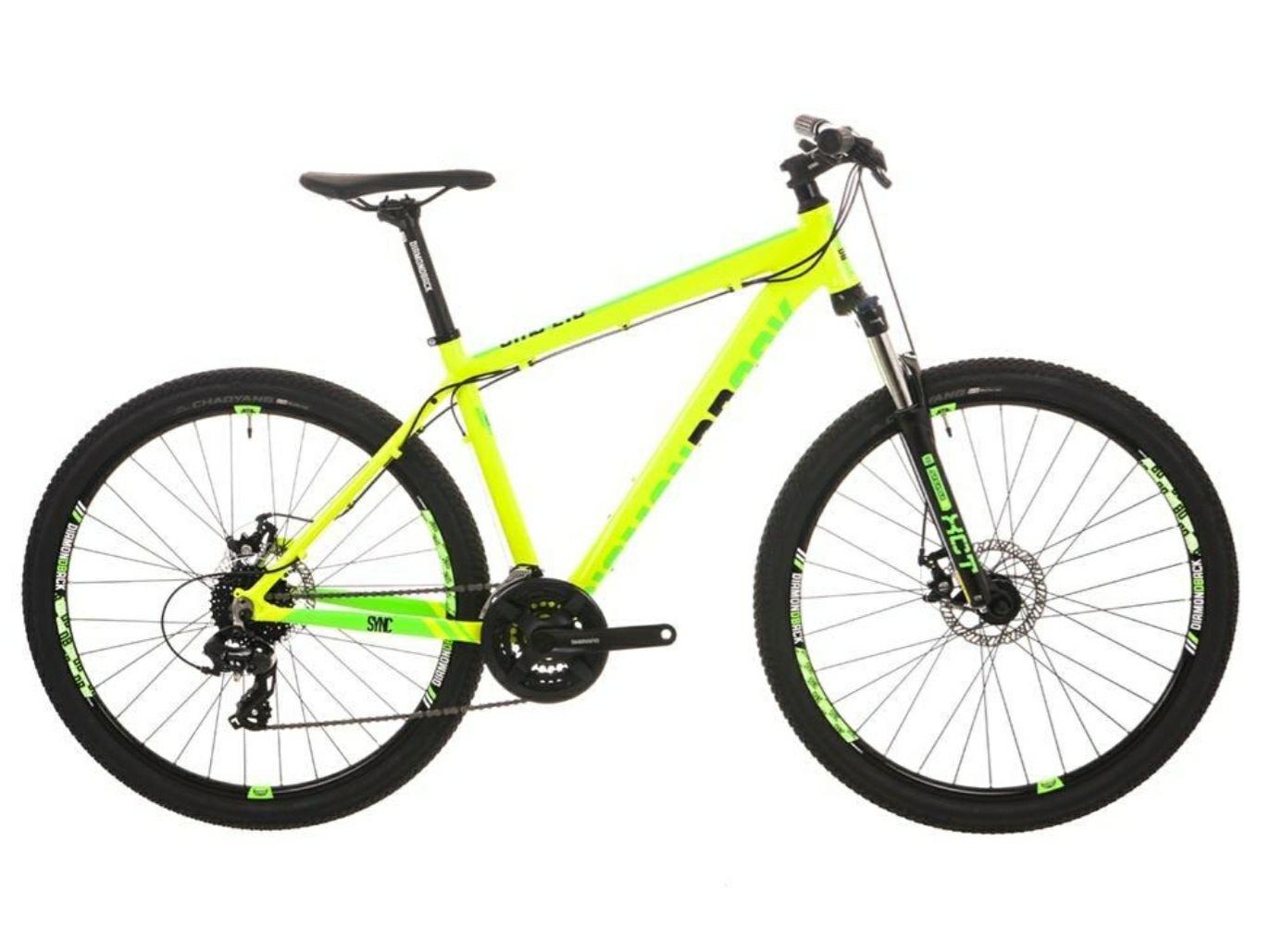 Diamondback Sync 2.0 Mens Mountain Bike 27.5 - Yellow - £289.99 delivered @ Fawkes Cycles