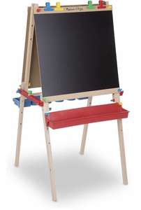 Melissa & Doug Deluxe Wooden Standing Art Easel - £57.26 @ Amazon