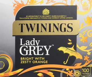 Twinings 400 bags English breakfast or earl grey or lady grey - £12 Prime / +£4.49 non Prime / £10.2 with Subscribe & Save @ Amazon