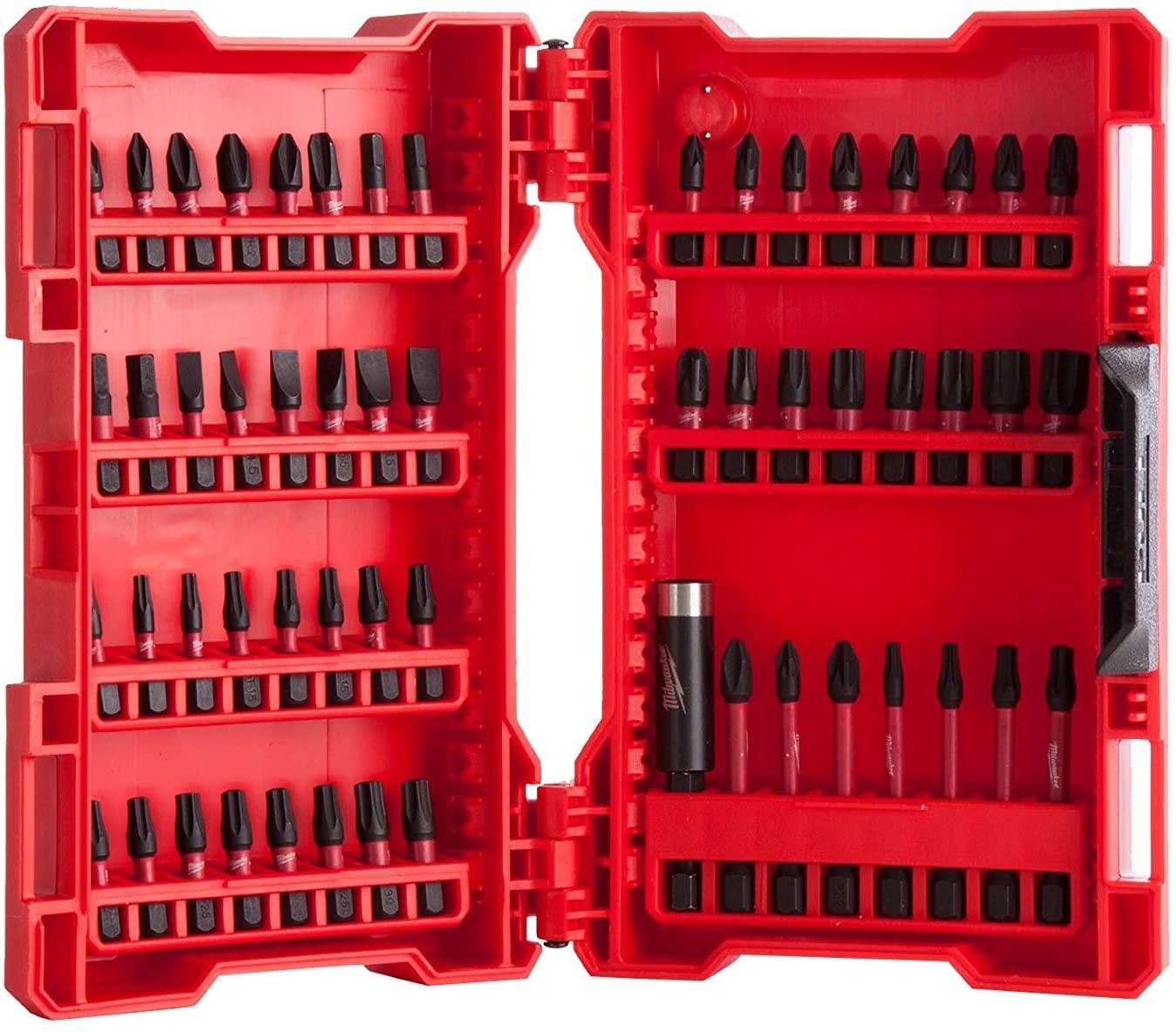 Milwaukee 4932430907 Shockwave 56 Piece Drill/Screwdriver Bit Set £14.20 @ FFX