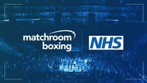 Matchroom Boxing donates NHS 200 Free Tickets Per Event! Fights include AJ v Pulev. The Scheme will last for 12 Months once Boxing Resumes