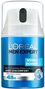 L'Oréal Men Expert Hydra Power Refreshing Moisturiser, - £4 Prime / £3.80 S&S (+£4.49 non-Prime) @ Amazon