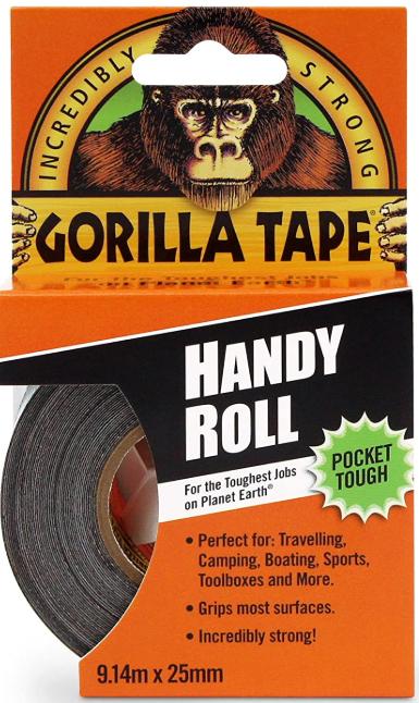 Gorilla Glue 3044401 Gorilla Duct Tape Black 9.14 m, Black - £2.48 (Prime) / £6.97 (non prime) @ Amazon