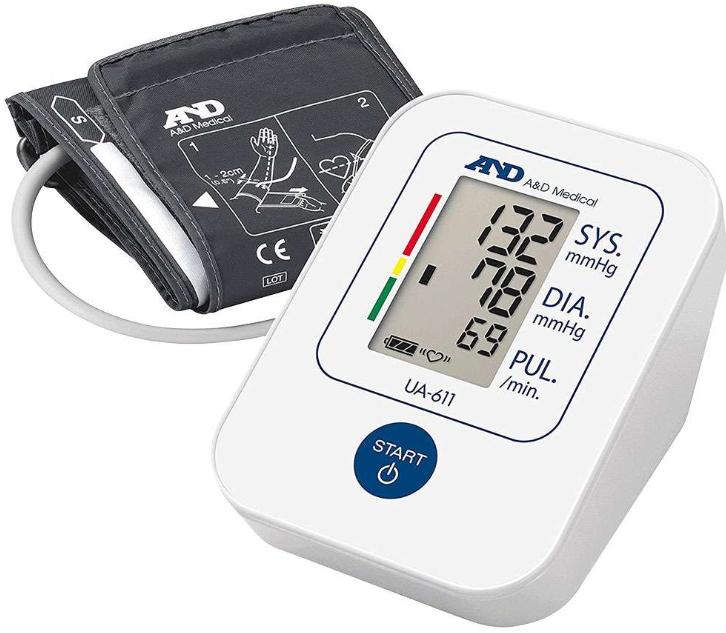 A&D Medical Digital Blood Pressure Monitor Home and Travel - Model. UA-611 - £15.99 delivered @ 7dayshop