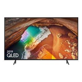 Samsung QE82Q60R 82 inch 4K Ultra HD HDR Smart QLED TV with Apple TV app Freesat HD- 6yr Warranty- Richer Sounds - £1999