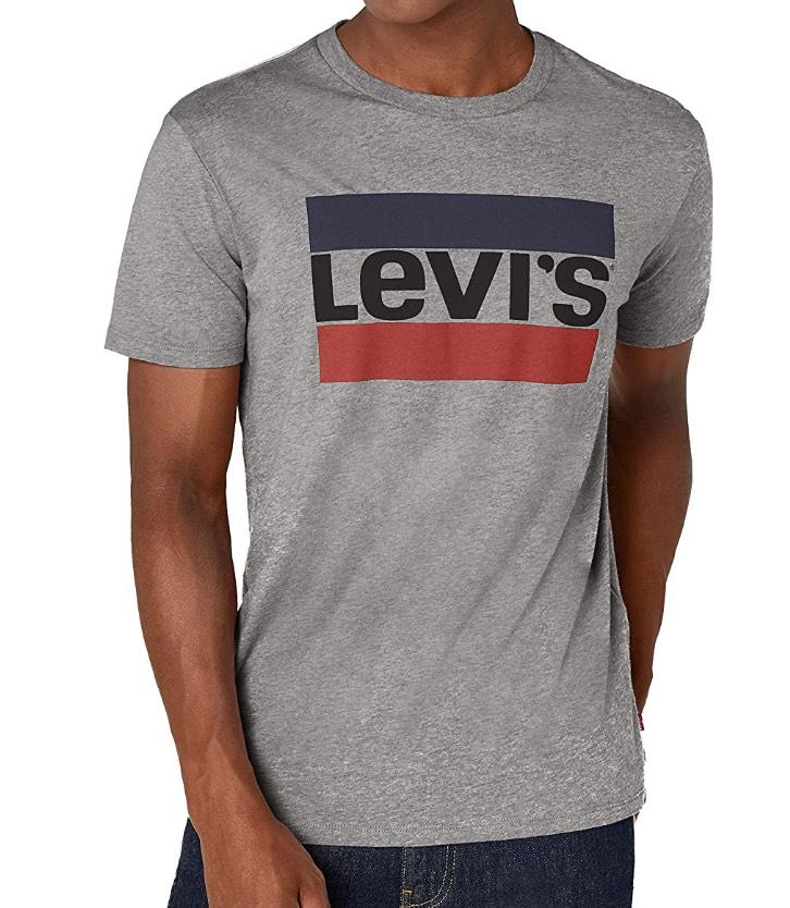 Levi's Men's Sportswear Logo Graphic T-Shirt £8 (sizes M, L & XL) + £4.49 non Prime @ Amazon