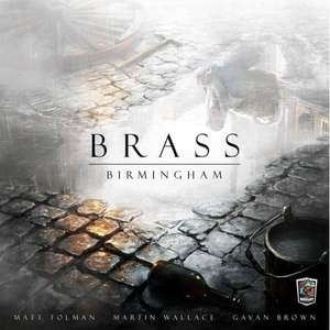 Brass: Birmingham Board Game £44.95 with code @ Chaos Cards