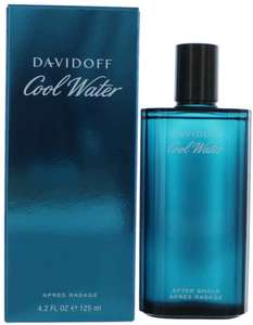 Davidoff Cool Water Aftershave - 125 ml at Amazon for £17.94 s&s £18.88 Prime (+£4.49 non Prime)