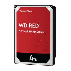 """Western Digital Red 4TB 3.5"""" SATA NAS Hard Drive £84.99 free delivery with Student, Teacher & Seniors discount at Western Digital Store"""