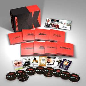 Stanley Kubrick Limited Edition Film Collection (4K UHD - BD - DVD) £71.99 using code @ Warner Bros. Shop
