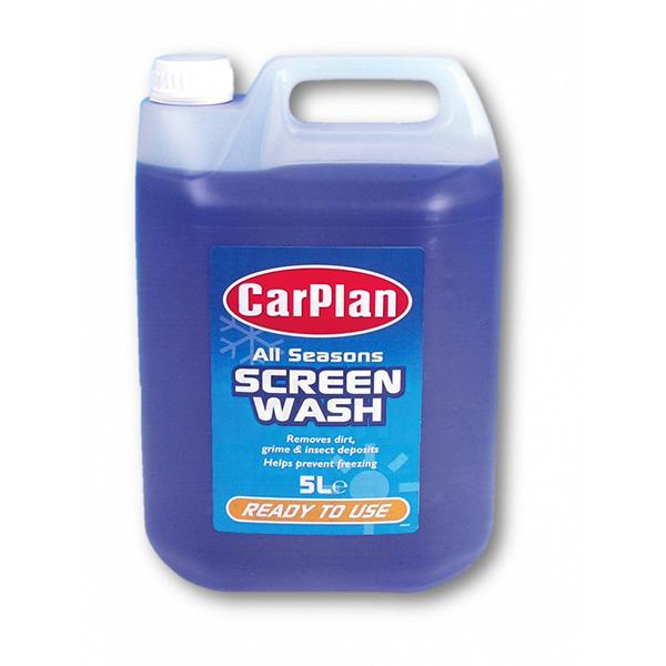 Carplan All Season Screen Wash Ready Mix - 5Ltr, £2.39 at Euro Car Parts