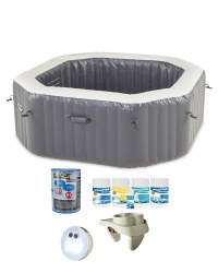 Inflatable Spa Pool & Accessories £387.95 + £6.95 delivery at Aldi