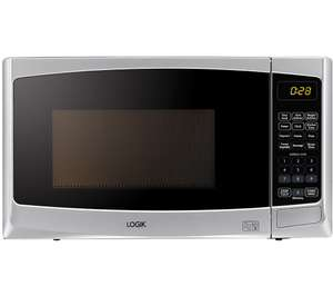 LOGIK L20MS14 Solo Microwave Silver (1 Year Guarantee) - £47.99 Delivered with code @ Currys PC World