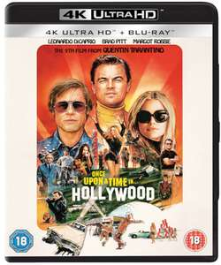 Once Upon a Time in Hollywood - 4K Bluray £14.99 delivered @ Zavvi