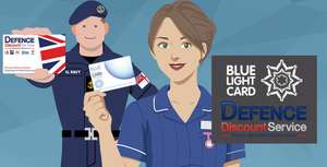 Extra 20% OFF JD Sports including sale items for NHS blue light/DDS members and students via Blue Light Card Discounts