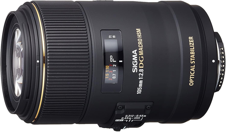 Sigma 105mm F2.8 EX DG OS HSM Macro Lens £299 @ Amazon