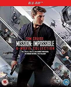 Mission Impossible Collection Blu-Ray Box Set - £22.40 @ Amazon