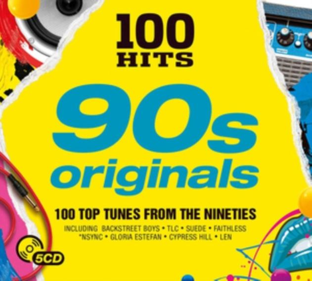 100 Hits - 90s Originals [5CD compilation] - £2.99 @ WHSmith