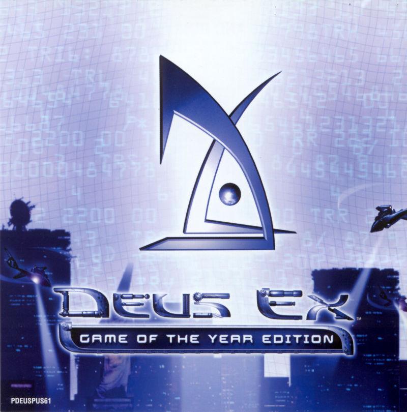 Deus Ex: Game of the Year Edition (PC Steam Key) 69p @ Steam