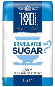 Tate And Lyle Granulated Sugar 1KG 59P instore @ Savers (Glasgow)