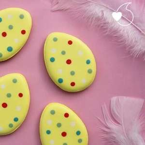 Free hand-iced Easter biscuit from Biscuiteers with free delivery from Vodafone veryme