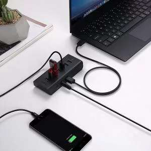 AUKEY USB Hub 4 USB 3.0 Ports and 3 Charging Ports with 12V/3A Power Adapter - £10.99 Delivered sold by MingXi EU & FBA