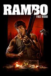 Rambo 1, 2 or 3 4K digital films £4.99 each @ iTunes