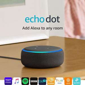 Amazon Echo Dot 3rd Gen (Charcoal / Heather / White) + 6 Months Spotify Premium - £24.98 delivered @ Currys PC World