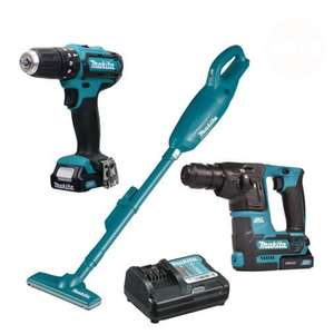 Makita 108PK1 10.8v CXT - 3 Piece Pack with 2 x 1.5Ah Batteries and Charger £179.99 Delivered @ ITS